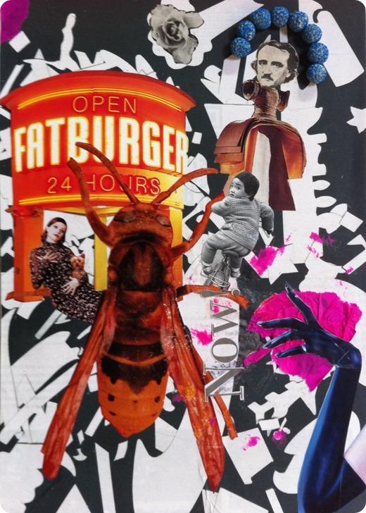 un frame del sogno dell'ape del fast food