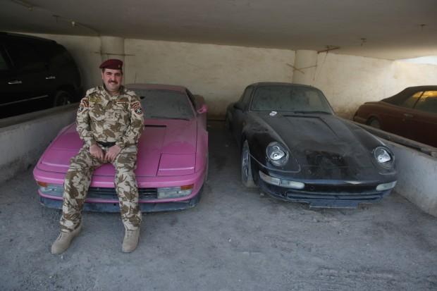La Testarossa rosa di Saddam
