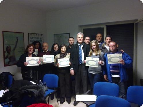 i volontari del corso volontari associazione marta russo onlus