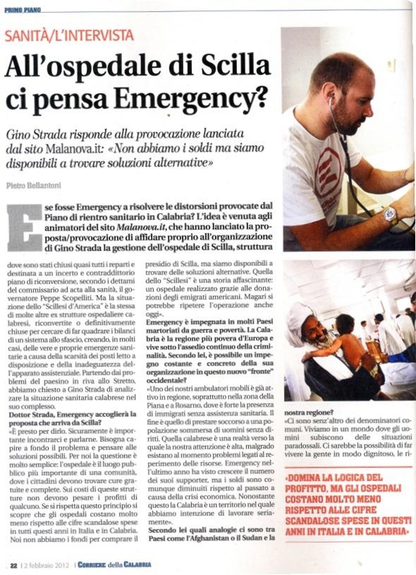 Corriere_Calabria_Scilla_ MalEmergency_gino_strada_1