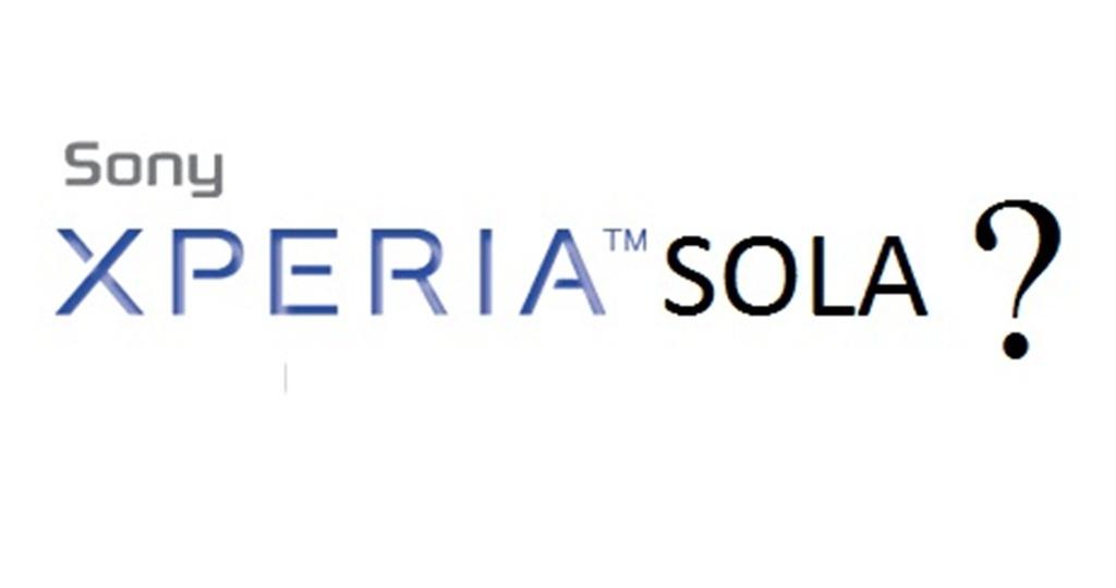 Sony experia sola
