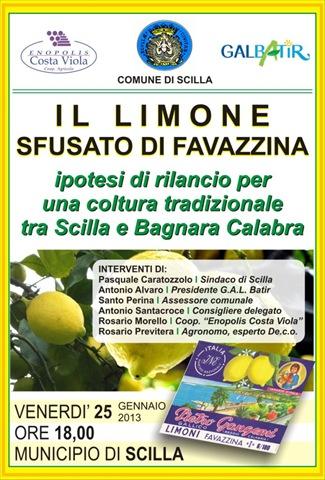 MANIFESTO convegno limone Favazzina